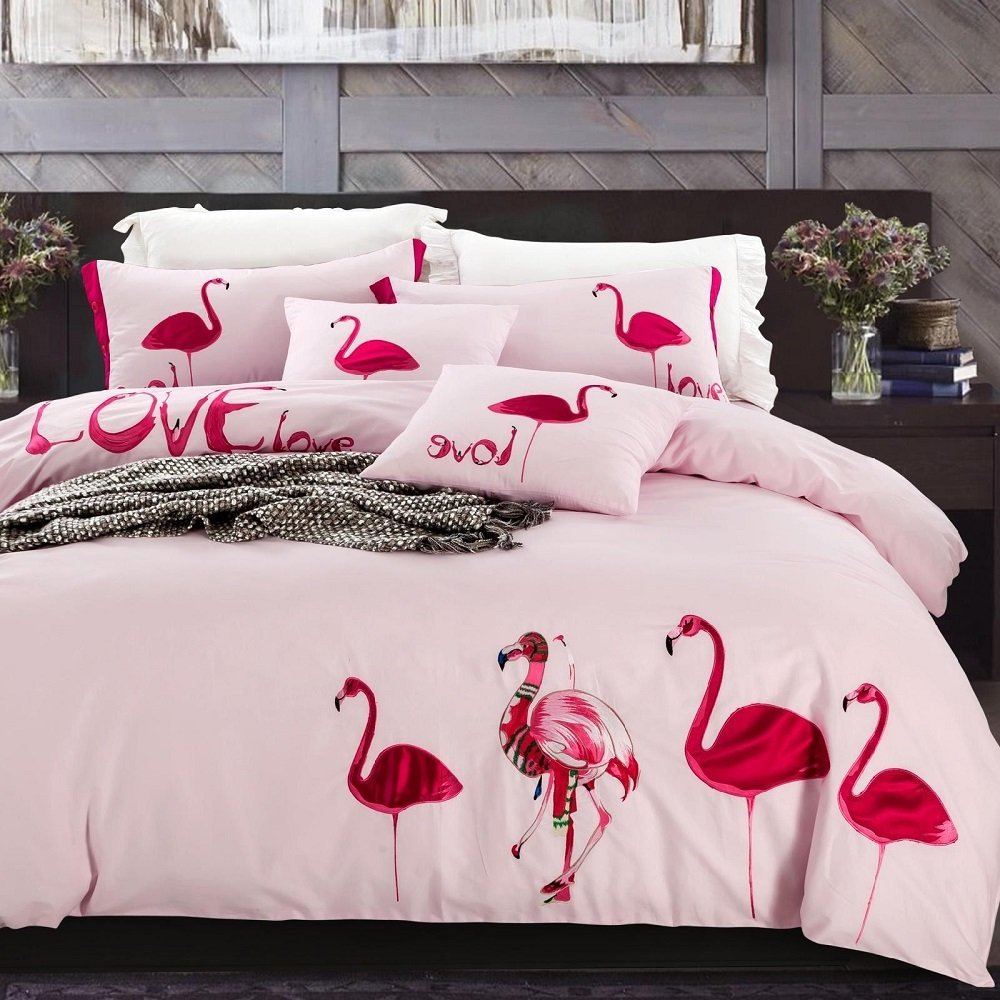 Online Kaufen Grohandel flamingo bettwsche sets aus