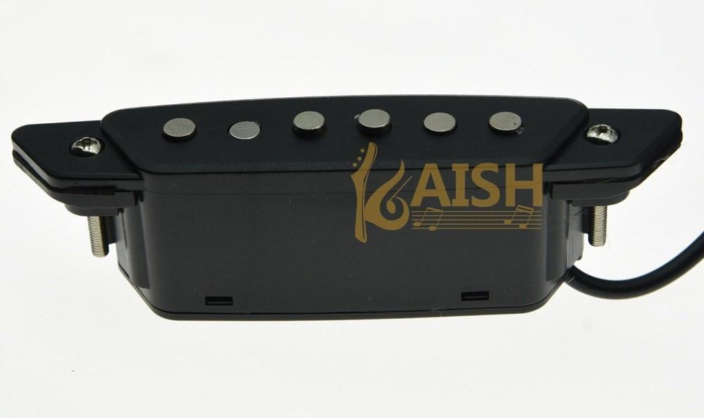 Belcat SH-85 Acoustic Guitar Pickups Sound hole Pickup Black belcat bass pickup 5 string humbucker double coil pickup guitar parts accessories black