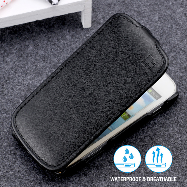 100% Original NEW cases For Samsung galaxy Trend S Duos S7562 GT-S7562 Plus S7580 S7582 Leather case vertical Flip Cover Pouch