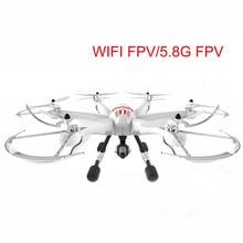 Ukuran besar rc drone mainan CF909 5.8G FPV WIFI FPV remote control rc drone Headless Modus 3D Gulungan penerbangan Satu kunci untuk kembali LED cahaya