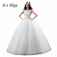 Summer Real Photo Tulle Flowers Transparent Lace Wedding Dresses Cheap White Bride Gowns Custom Made Vestidos