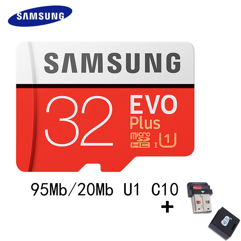 SAMSUNG Micro SD Card 32GB 64GB 128GB 100Mb/s for Phone Class10 U3 4K / U1 Microsd Memory Card Flash TF Card for Phone SDHC SDXC samsung 100mb s memory card 128gb 64gb 32gb 256gb micro sd card class10 u3 microsd flash tf card for phone with sdhc sdxc