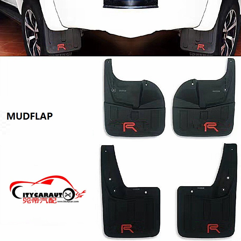 CITYCARAUTO fender mudguard 4PCS/SET dirtboard splash guard fender Mudflap fit for Hilux revo pickup car 2015-2017 citycarauto styling mouldings auto original fender flare accessories fit for hilux vigo revo 2015 2017 car