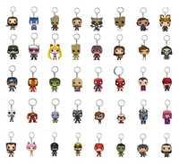 Pop Marvel vengadores infinito guerra Hulk Iron Man Spiderman Thanos visión Capitán América hormiga Thor Loki acción llavero con figuras de juguete