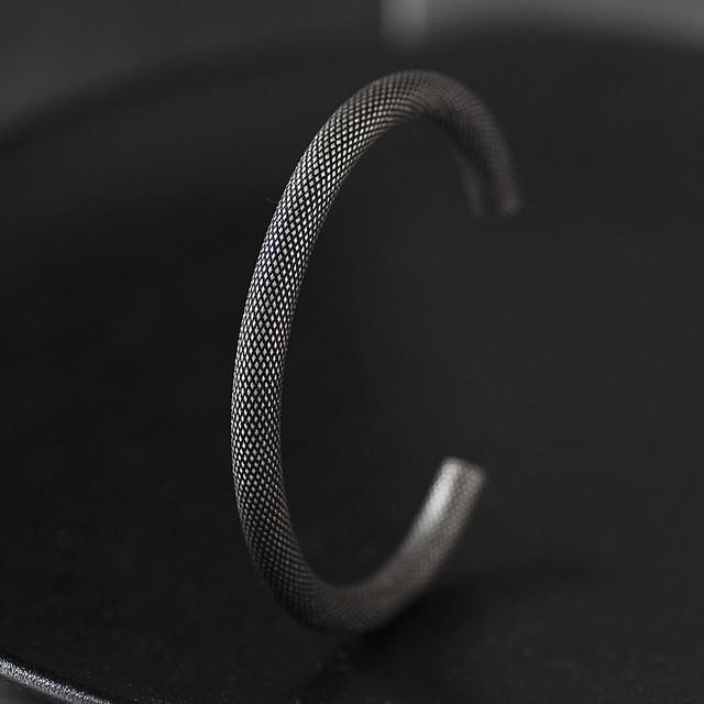 Bracelet Rétro titane acier Viking  3