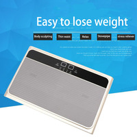 Home Sauna Music Relax Slimming Plate Electric Belly Fitness Fat Burner Body Sculpting Waist Leg Vibration Lose weight Machine