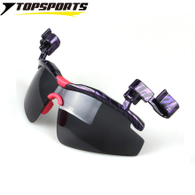 New Arrival Polarized Glasses UV protection Hat Visors Sport Cap Clip-on men Sunglasses  for Golf Cycling Fishing Eyewear XQ114a
