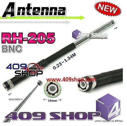 Rh-205 VHF antena 144 Mhz 5/8 BNC plata para TK100 TK200 TK320 IC-V8 IC-V80 IC-V82 IC-U82 HX320 HX400