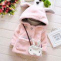 new quality warm Autumn winter baby coats rabbit soft fleece cloak Toddler clothes for girls cape outerwear children clothing