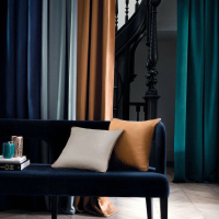 Top Grade Velvet Curtains for Living Room Modern Curtains for The Bedroom Windows Curtain Custom Size