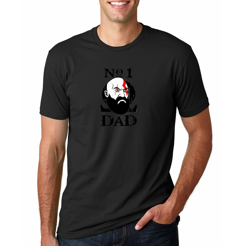 4bfad8780 1 Dad T shirt men Warrior daddy birthday present Tee shirt New pop game  Father's day gift t-shirt camiseta