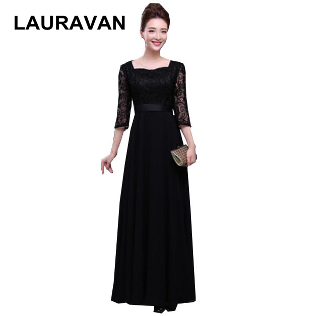 classy sexy black floor length womens sweetheart bridesmaid lace up dresses new arrival 2019 new gowns