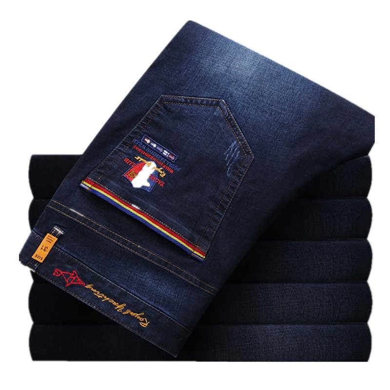 2019 Top quality Mens Jeans Fashion Jeans Lightweight Kenty Shark Men jeans Thin Material Trousers Jeans Men 6001