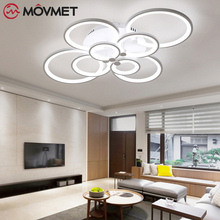 LED Ceiling Lights Remote Control Living Room Bedroom Modern Led Ceiling Light Dimming Led Ceiling Lamp Fixtures