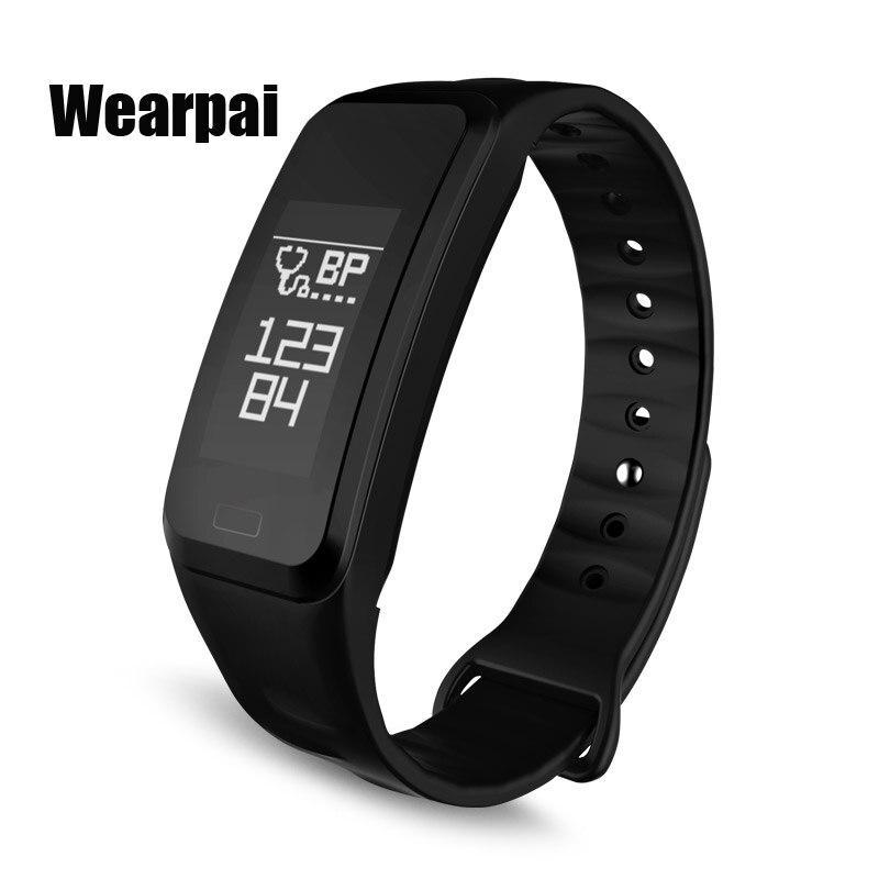 Original Wearpai WP R1 colorful Smart Bracelet Heart Rate Monitor Fitness Tracker Smartband IP67 PRO Smart