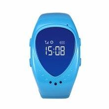 LEKEMI GPS tracking tracker font b watch b font phone for kids child children gps bracelet