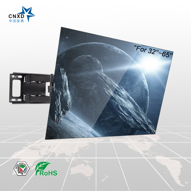 Articulating Full Motion TV Wall Mount TV Bracket Suitable TV Size  32'' 37'' 40'' 42'' 43'' 46'' 47 ''50'' 52''55""