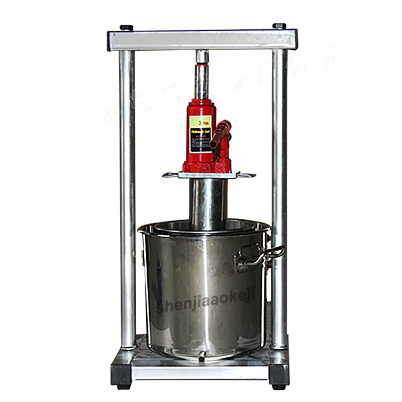 manual honey presser stainless steel mulberry grape blueberry juicer hydraulic squeezer honey processing machine beekeeping tool