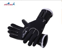 3MM Neoprene Scuba Dive Gloves Swim Gloves Snorkeling Equipment Anti Scratch Keep Warm Wetsuit Material Winter Swim Spearfishing sbart women full body scuba dive wet suit 3mm neoprene wetsuits winter swim surfing snorkeling spearfishing water swimsuit
