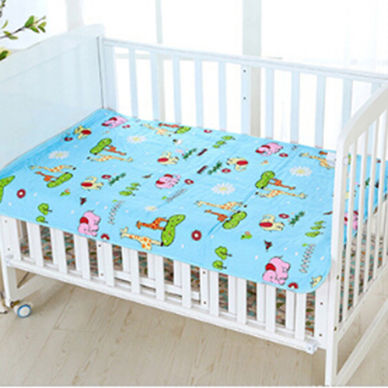 Knowledgeable Cartoon Baby Insulation Pad Waterproof Washable Oversized Cotton Mattress Newborn Baby Supplies Unequal In Performance Nappy Changing