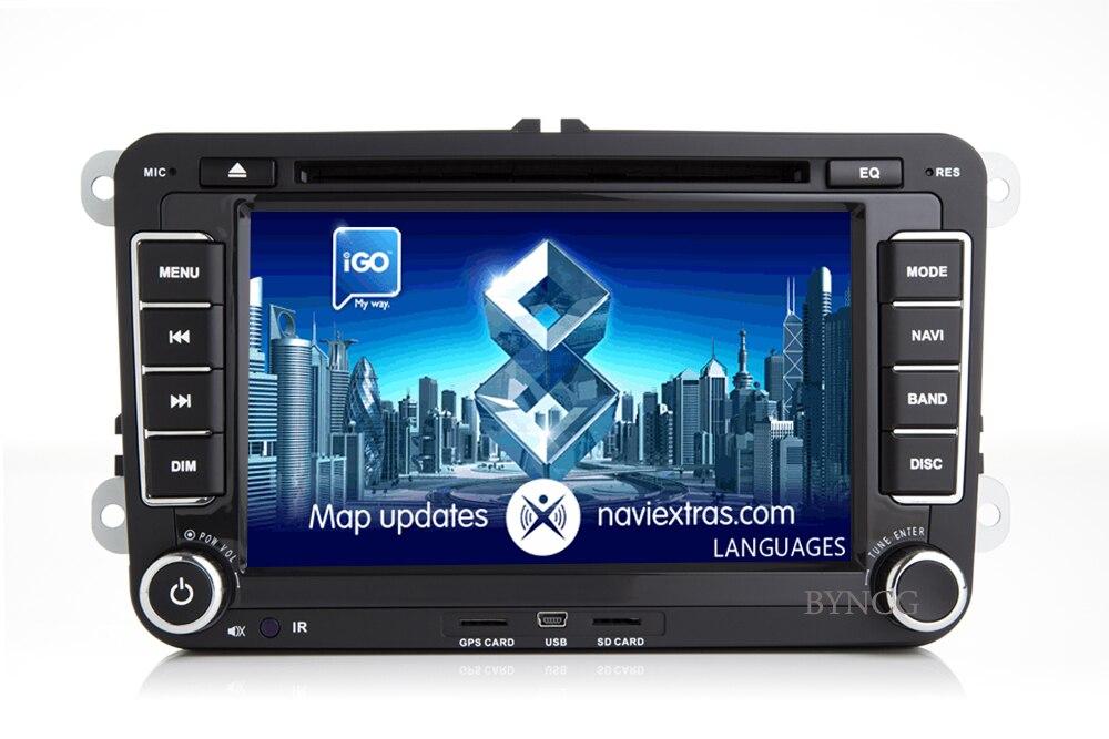 Lecteur multimédia rapide d'autoradio BYNCG android 8.1 pour Volkswagen passat b5 b6 golf 4 5 tiguan polo skoda octavia - 2