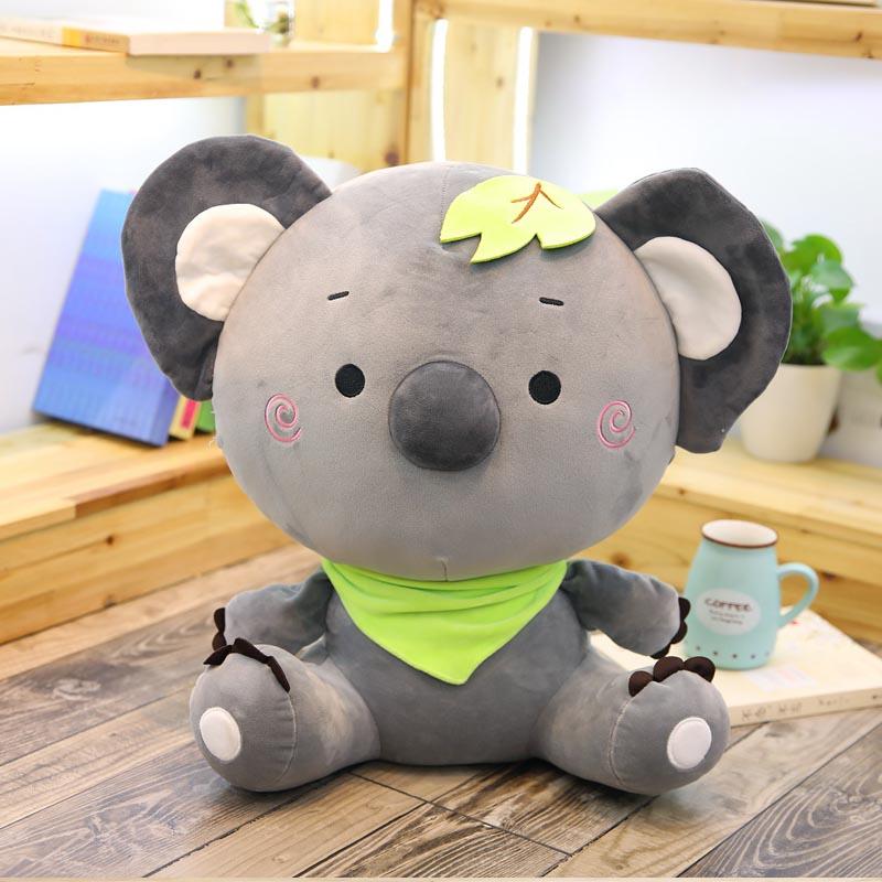 Koala Boy Plush Toy Children Doll Puppet Holding Koala Doll Birthday Girl
