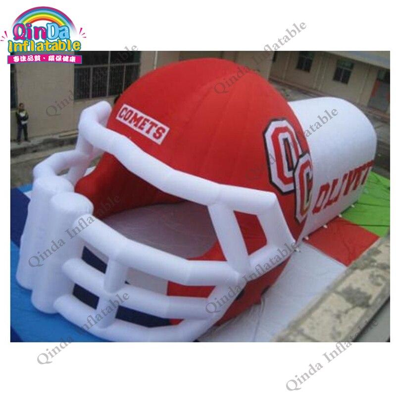 Hot Sale Custom Giant Inflatable Football Helmet Tunnel For Sport EventHot Sale Custom Giant Inflatable Football Helmet Tunnel For Sport Event