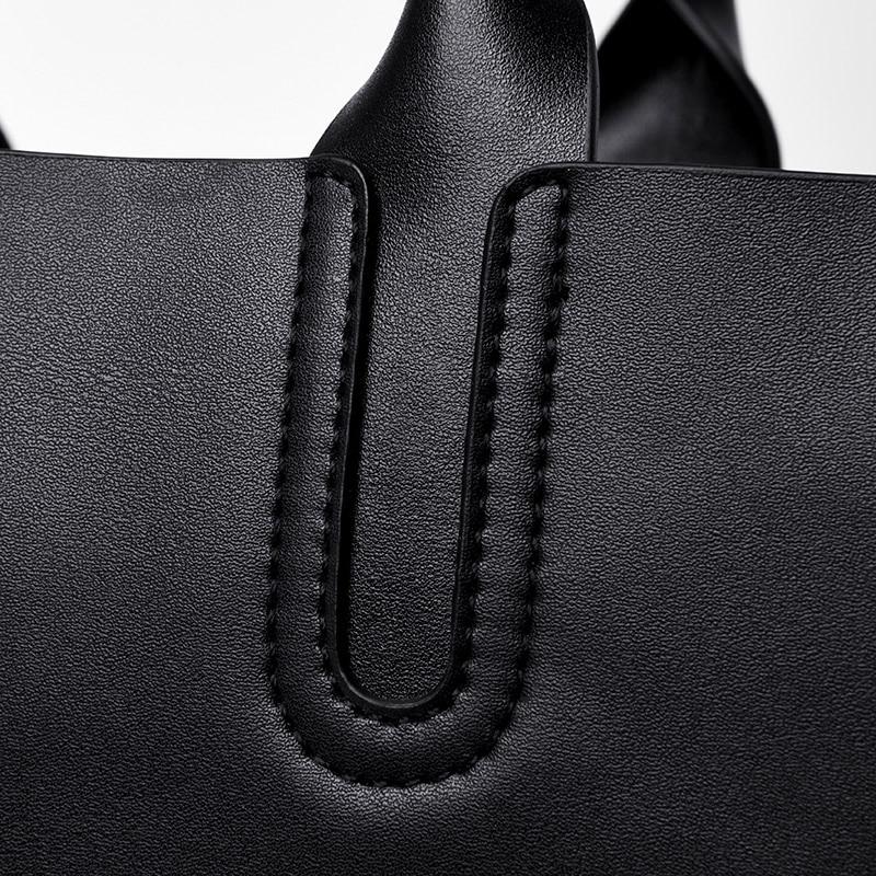 YILIAN2019 new women 39 s handbag fashion cowhide handbag large capacity women 39 s handba in Top Handle Bags from Luggage amp Bags
