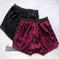 Quality Male Silk Boxer Panties Mulberry Silk Panties Four Angle Shorts U Bags Breathable Care Skin