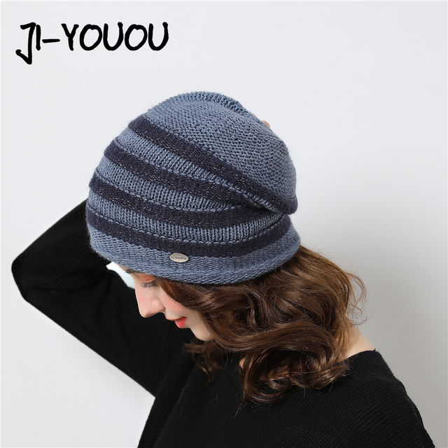 a3bed87ac943b5 fashionable women's Hat winter skullies warm knitted beanie woolen novelty  Beanies 2018 in the style of rest winter hat for men