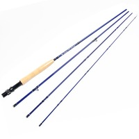 New Arrival Fly Fishing Rod Blue Color Rod Blank 24T SK Carbon Fiber 3WT 5WT Fly