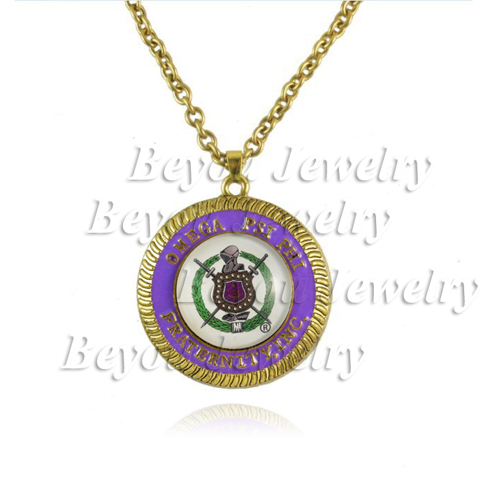Omeg Psi Phi Fraternity  logo  necklace Jewelry 1pc
