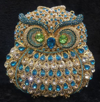 Strass femmes d'embrayage sacs diamants dames les sacs de soirée vintage de mariage en cristal de mariée sacs à main bourse sacs téléphone porte-monnaie