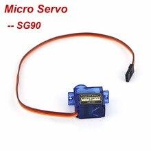 4Pcs/Lot RC  Micro Servo 9g SG90 9g RC Servo Mini Micro Servo For RC QAV250 450 Helicopter Airplane Car