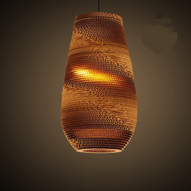 Us 169 0 Southeast Asian Style Cafe Woven Pupa Thai Pendant Lights Restaurant And Teahouse Bar Hanging Lighting In From