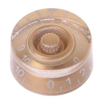 1 pc pokrętło przycisk regulacji głośności dla LP elektryczna gitara basowa części złoty biały cyfry instrumenty strunowe akcesoria tanie i dobre opinie CN (pochodzenie) 18875