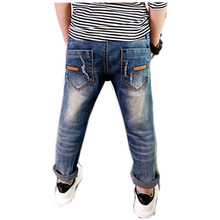 Toddler Boys Trousers Three-Eight Years Old Toddler Leggings Cute High Quality Skinny Jeans Teenagers NZK0094