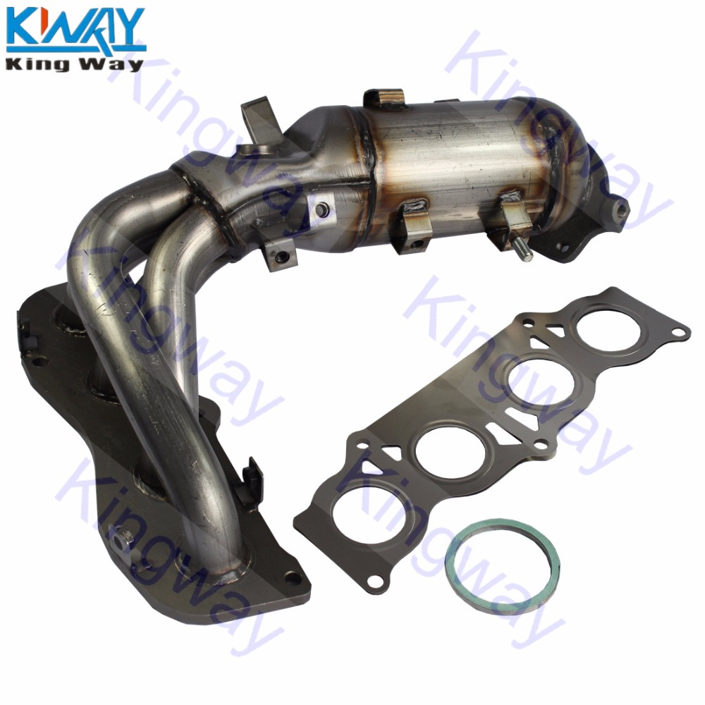 Exhaust Manifold w// Catalytic Converter for 2003 2005 2006 Toyota Camry 2.4L I4