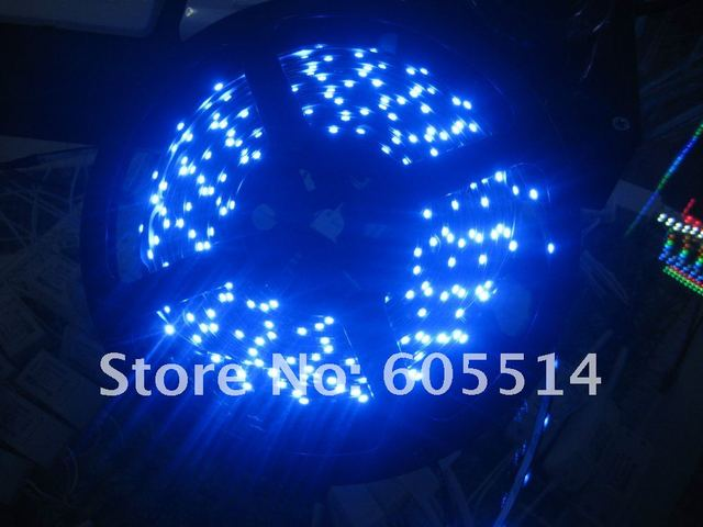 [Seven Neon]Free shipping 5M/Reel SMD 12V DC 335 side emmiting lighting waterproof LED Flexible Strip Light