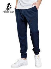 Pioneer Camp Sport Outdoor Men Summer Pants High Elastic Hiking Running Trousers Quick Drying Pant AXX901078(China)