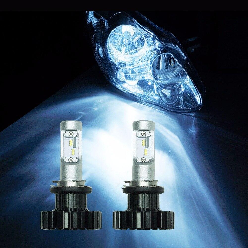 PA LED 1 Pair x H15 ZES LED Chip High Beam Daytime Running Light for VW Golf Tiguan Super White