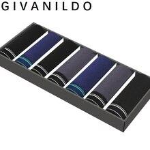 Givanildo 7pcs/lot Boxer Brand Sexy Underwear Men B