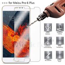 2.5D 0.26mm 9H Premium Tempered Glass For Meizu Pro 6 Plus 5.7inch Screen Protector Toughened protective film For Pro6 Plus