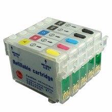 Ceye многоразового Картриджи с чернилами комплект для Epson bx310fn B1100 t0711* 2 t1002-t1004