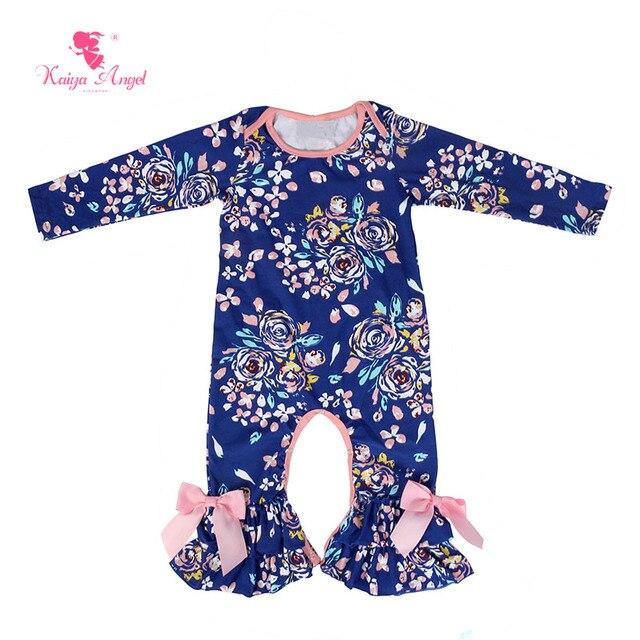 Kaiya Angel Baby Romper Hot Sale Newborn Baby Girl Romper Fall Long