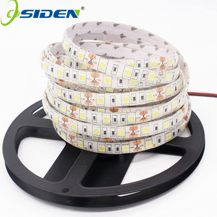 OSIDEN DC12V 5M LED Strip 5050 RGB,RGBW,RGBWW 60LEDs/m Flexible Light 5050 LED Strip RGB White,Warm white,Red,Blue,Green dc12v led strip 5050 rgb rgbw rgbww 5m 60led m ip65 waterproof 5050 led strip light rgb white rgb warm white
