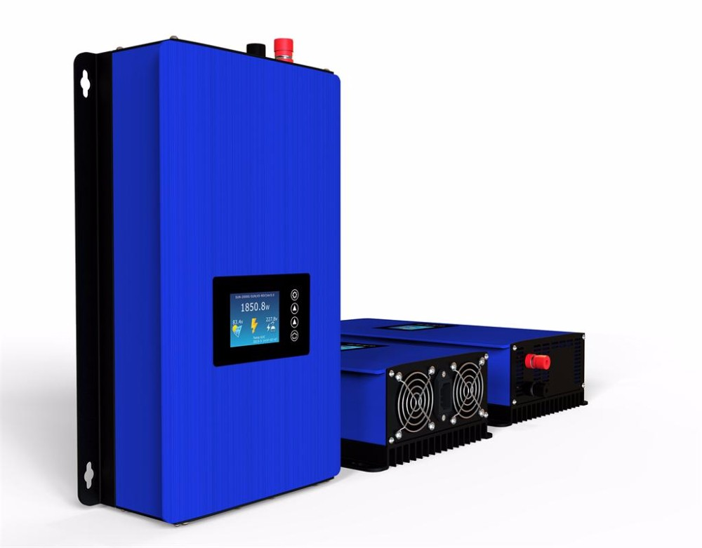 1000W Solar Grid Tie Inverter with Limiter, DC45-90V to 110VAC MPPT Pure Sine Wave Power Inverter 1500w grid tie power inverter 110v pure sine wave dc to ac solar power inverter mppt function 45v to 90v input high quality