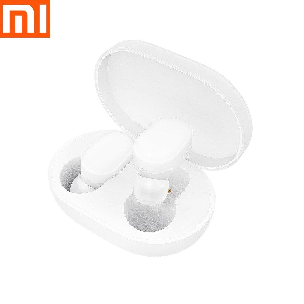 Le plus récent Xiaomi AirDots Bluetooth écouteurs TWS casque écouteurs mains libres stéréo basse BT 5.0 avec micro intelligent AI contrôle