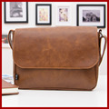 new 2015 fashion genuine leather bag men messenger bags,shoulder bags bolsas leather casual briefcase,retro men's travel bags
