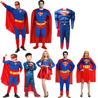 Children S Day All Saints Cloak Superman Costume For Cosplay Children Adult Men And Women Show